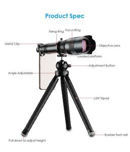 Mobile Phone Monocular Telescope Lens