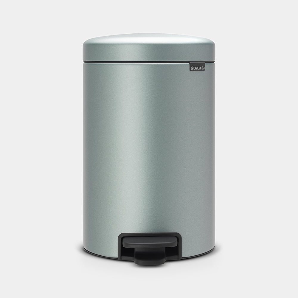 Copia del Pattumiera a Pedale 12 Litri Metallic Mint Antimpronte Newlcon Brabantia