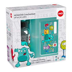 CLIP BOX KIDS TRITAN EMSA - Kids Lt 0,4 Monster