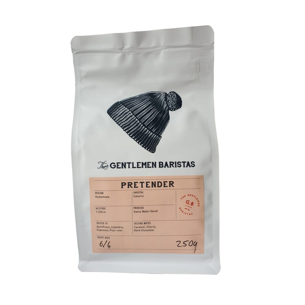 The Gentlemen Baristas - Pretender Decaffeinated 250g