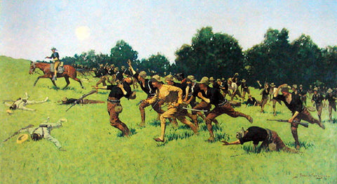 Charge of the Rough Riders 1898