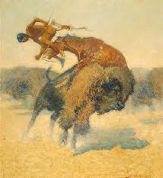An Episode of the Buffalo Hunt