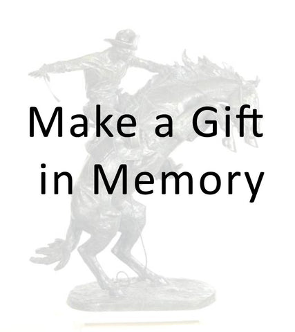 Make a Gift in Memory