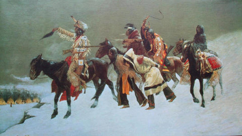 Return of the Blackfoot War Party 1887