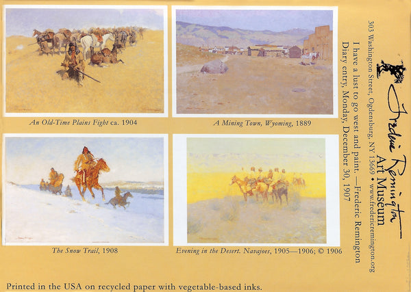 Western Scenes Box Set of Note Cards
