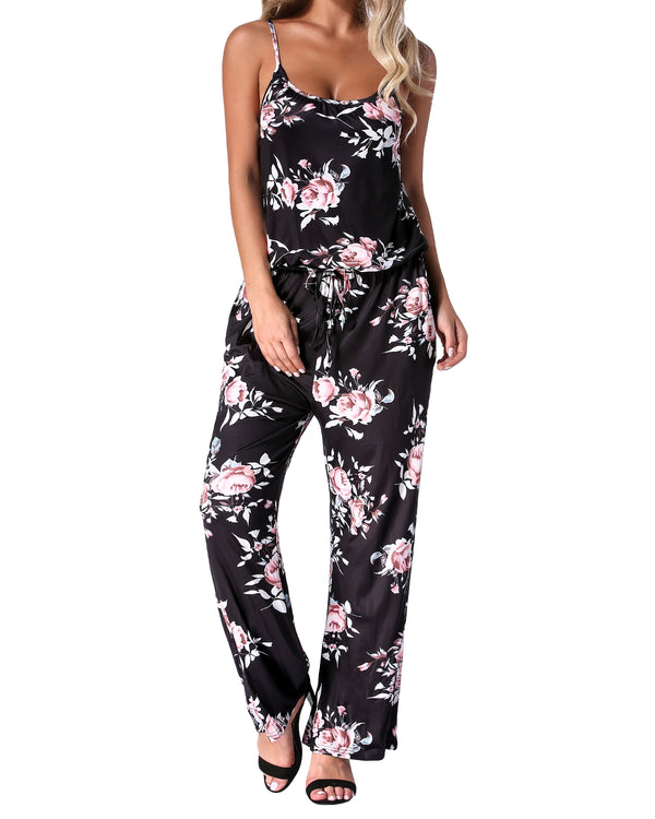 Womens Jumper Short Sleeve One Piece Jumpsuit - Coendy