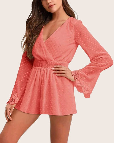 Women Bodysuit Off Shoulder Romper - Coendy