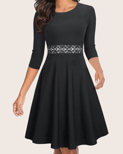 Womens Office Work Casual Pencil Dress - Coendy