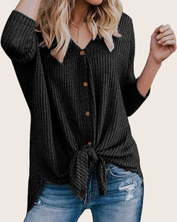 Women Sweaters Casual Knits Tops Pullover - Coendy