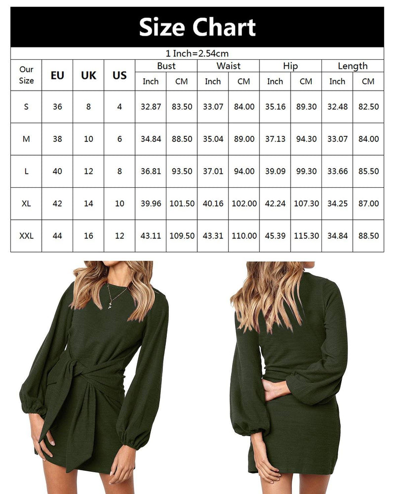 Women Dress Elegant Knitted Party Mini Dress Plus Size - Coendy