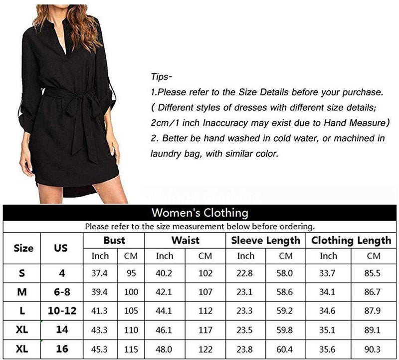 Women Blouse Solid Plain Shirt Tops - Coendy