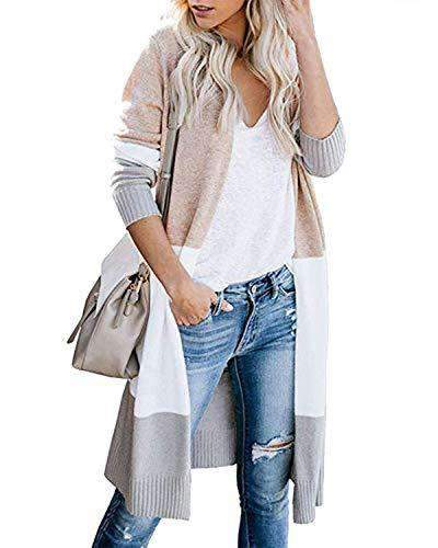 Women Coat Open Front Boho Cardigans - Coendy
