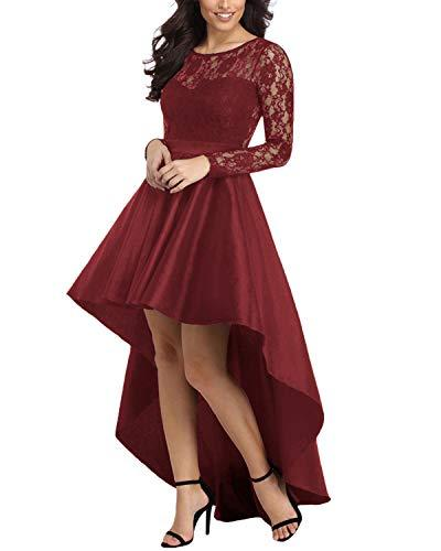 Women Cocktail Formal Party Midi Dress - Coendy