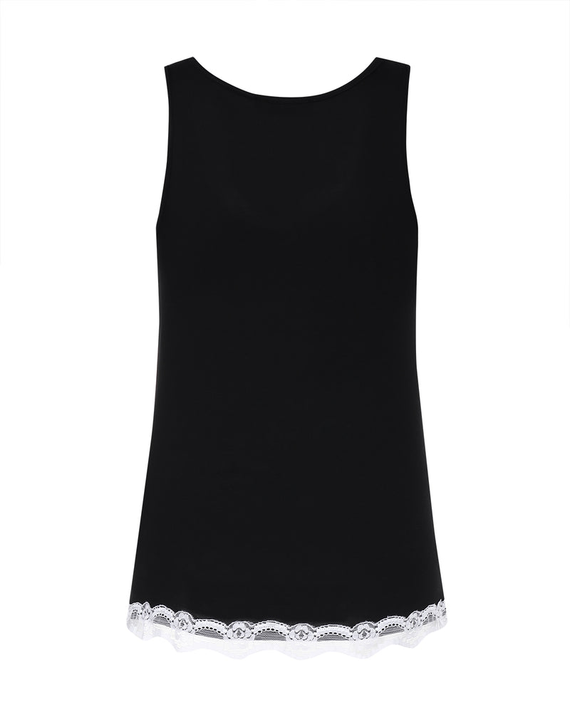 Women Tank Tops Sexy V Neck Sleevless Slimming Lace Cami
