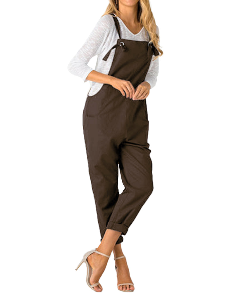 Women  Strappy Casual Overall - Coendy