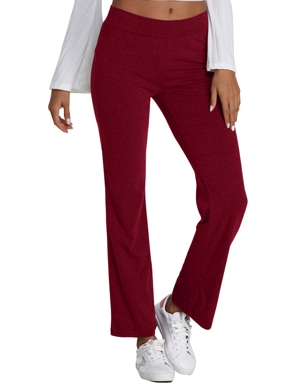 Women's Casual High Waist Palazzo Lounge Yoga Pants