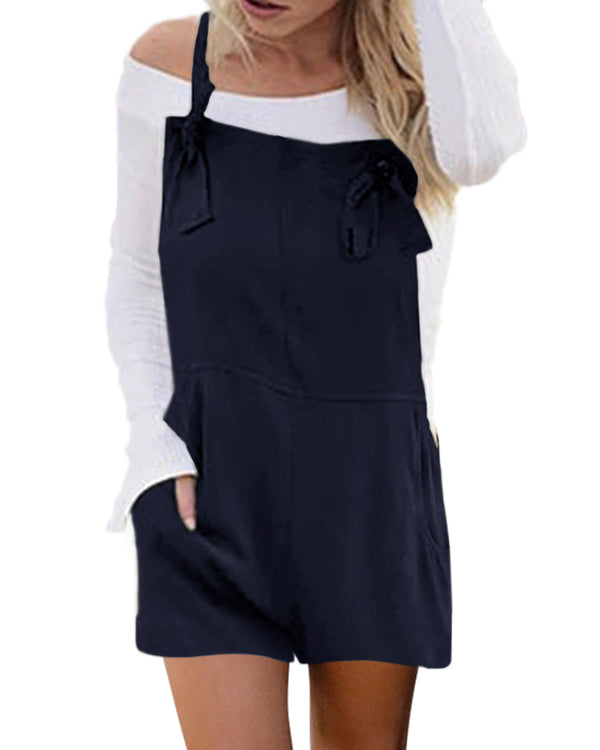 Women's Strappy Pocket Baggy Overall