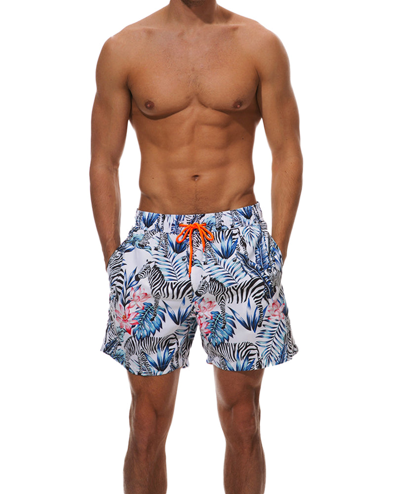 Men's Swim Trunks Quick Dry Beach Shorts - Coendy