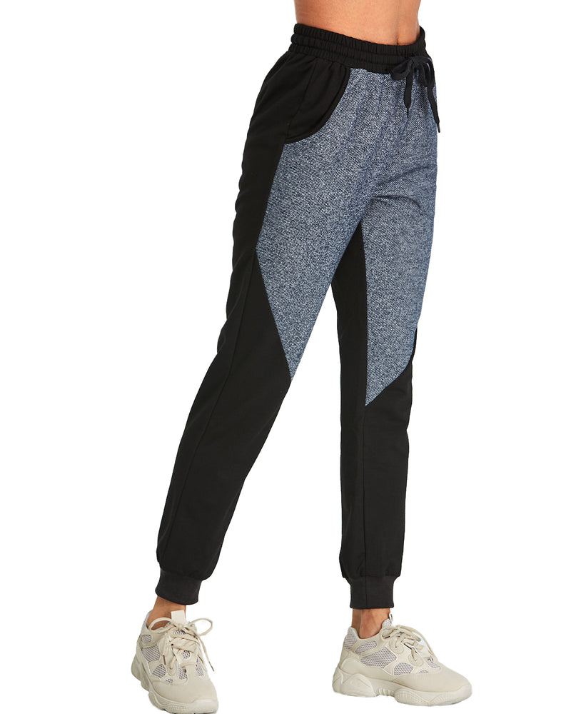 Women's Drawstring Waist Sweatpants with Pockets - Coendy