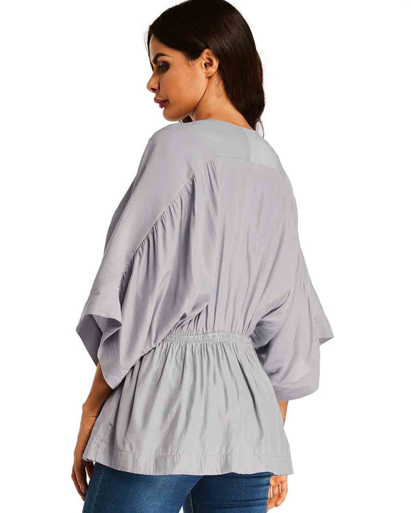 Women Chiffon Blouses Tunic Tops Shirt - Coendy