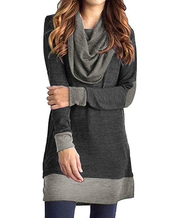 Women Tops Casual Tunic Pullover Sweatshirt - Coendy