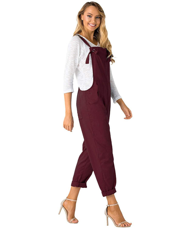 Women Fashion  Baggy Adjustable Strap Overall - Coendy