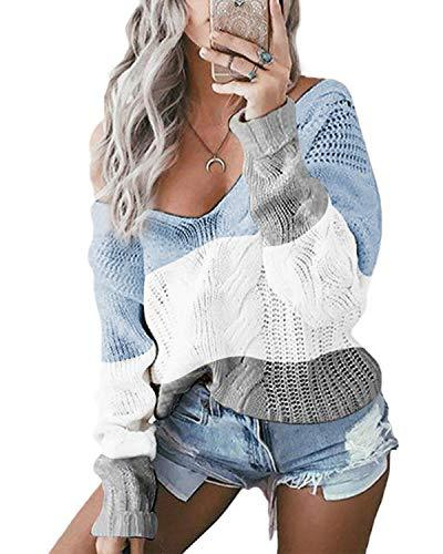 Women Off Shoulder Casual Sweatshirt - Coendy