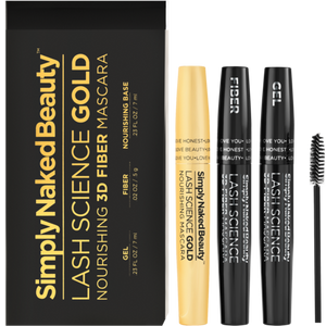 SNB - Lash Science Gold - 3D Fiber Lash Nourishing Mascara