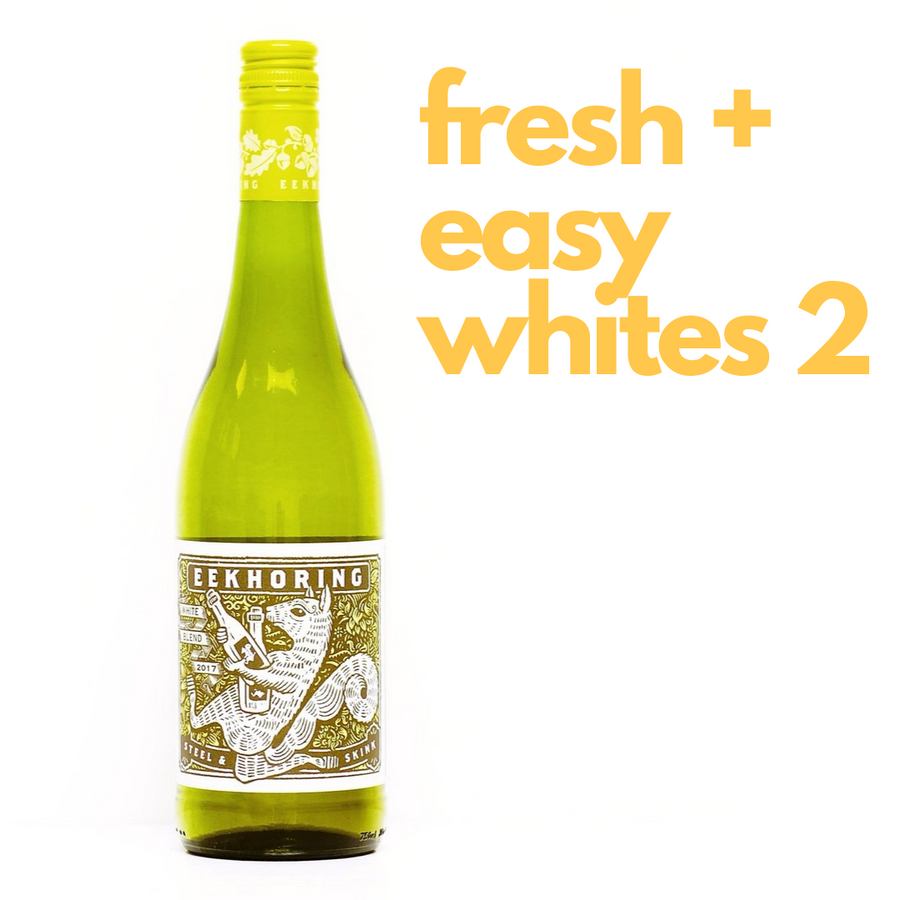 Whites: Fresh + Easy Case vol. 2 - Red Squirrel Wine