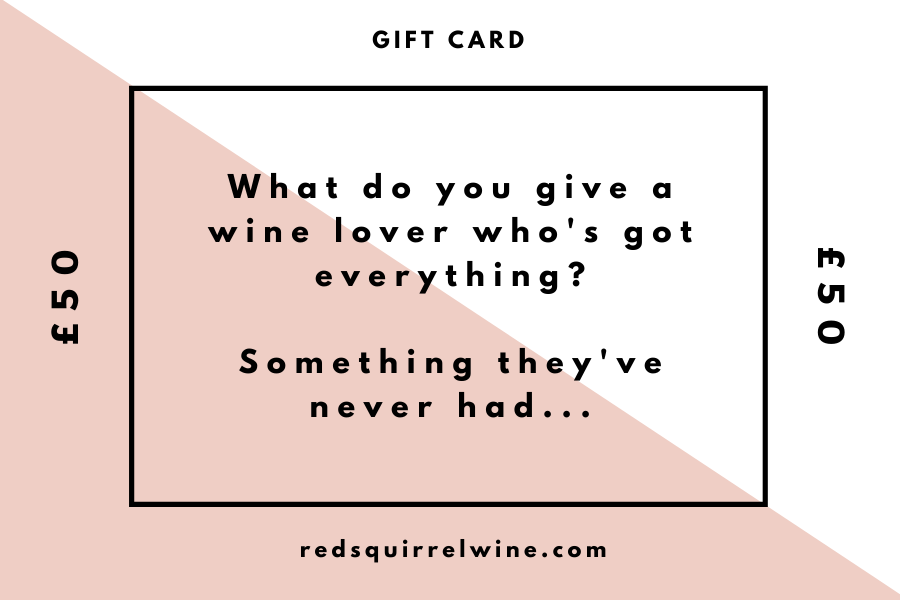 Gift Cards - Red Squirrel Wine