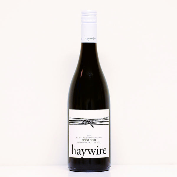 Haywire White Label Pinot Noir 2016 - Red Squirrel Wine