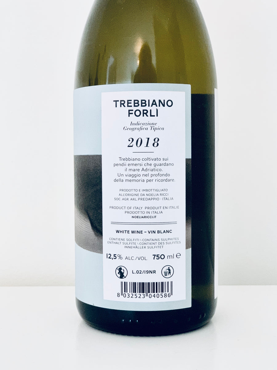Noelia Ricci Bro' Trebbiano 2018 - Red Squirrel Wine