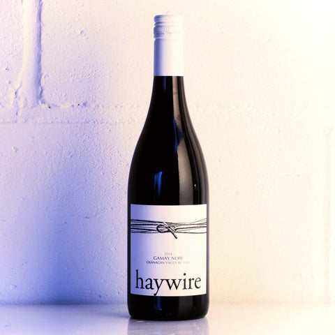Haywire White Label Gamay 2016 - Red Squirrel Wine