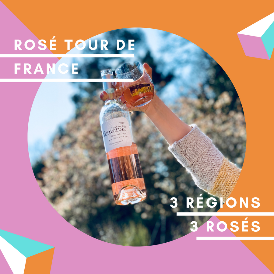 Rosé Tour de France Case - Red Squirrel Wine