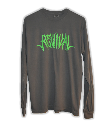 Dark Gray Long Sleeve Tee
