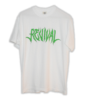 White Short Sleeve Revival Tee