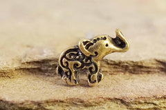 Elephant Gold Nose Ring