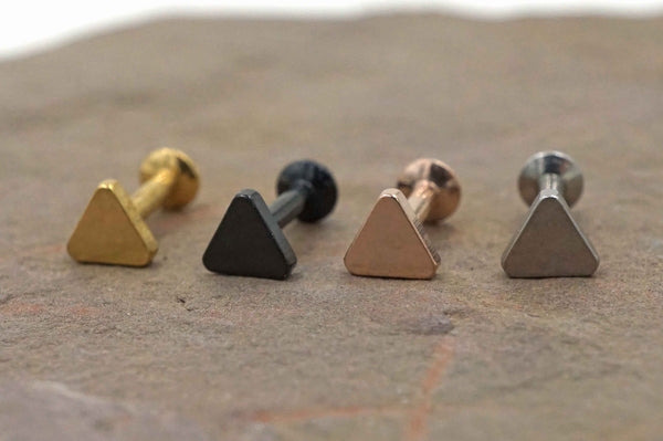 Triangle Disc Cartliage Earring Tragus Helix Piercing