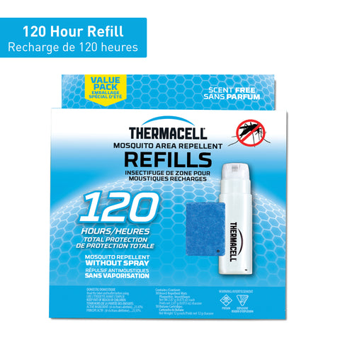 Thermacell Mosquito Repellent Refills - 120 hours