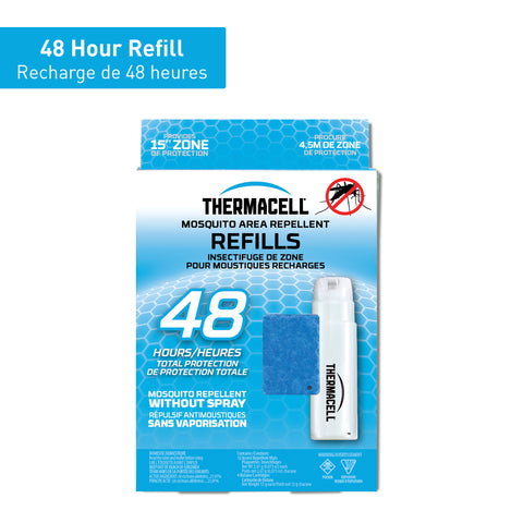 Thermacell Mosquito Area Repellent Refills - 48 hours
