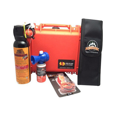 Basic Wildlife Safety Kit in Pelican Case with foam