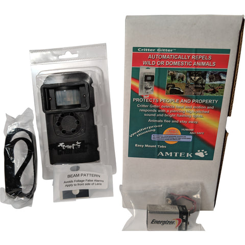 Critter Gitter in Waterproof Case