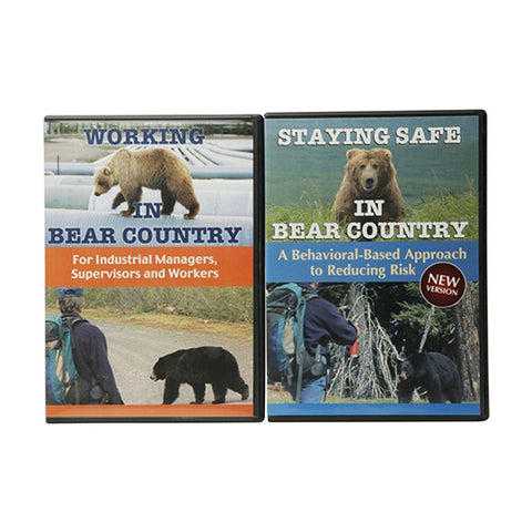 Staying Safe / Working in Bear Country DVD Set (Digital Media License available)