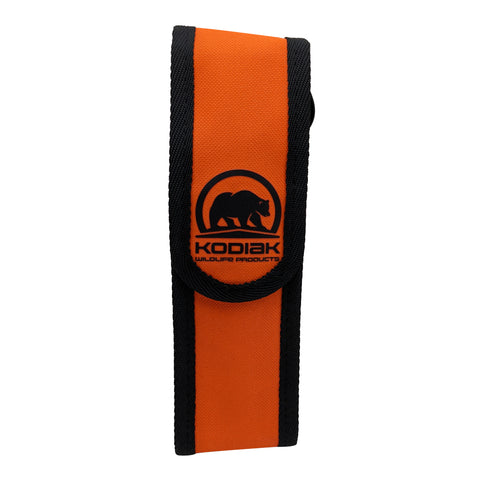 New 225g Kodiak Adventure Bear Spray Holster - High Vis Orange