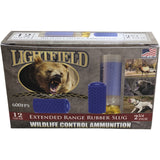 Lightfield 12 Gauge Extended Range Rubber Slug Ammunition