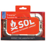 SOL Traverse Survival Medical Kit - Water, Shelter, Fire, Signaling