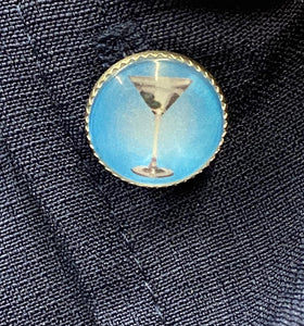 STEADY- MARTINI TIME BUTTON UP
