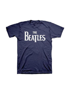 THE BEATLES- VINTAGE LOGO TEE