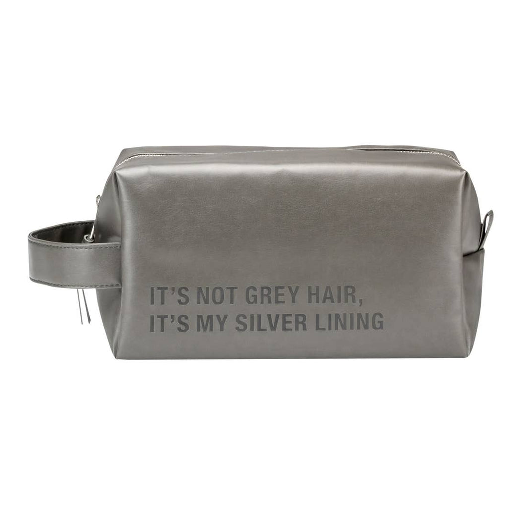 ABOUT FACE |  ITS NOT GREY HAIR | DOPP BAG