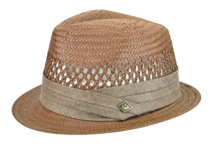 GOORIN- LIGHT WEIGHT STRAW FEDORA